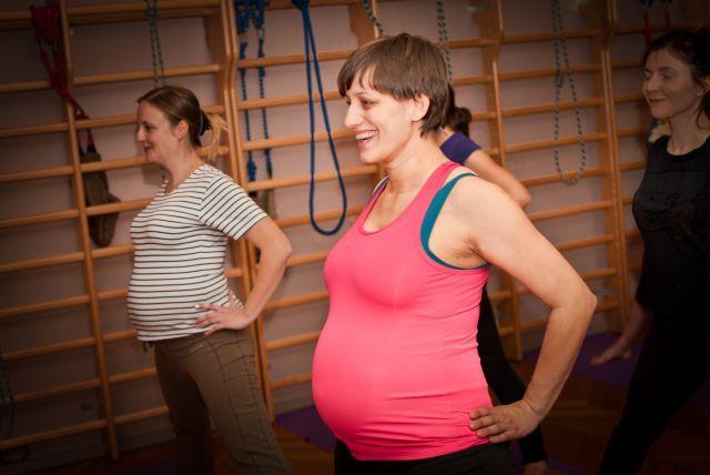 Zajęcia dla kobiet w ciąży 12